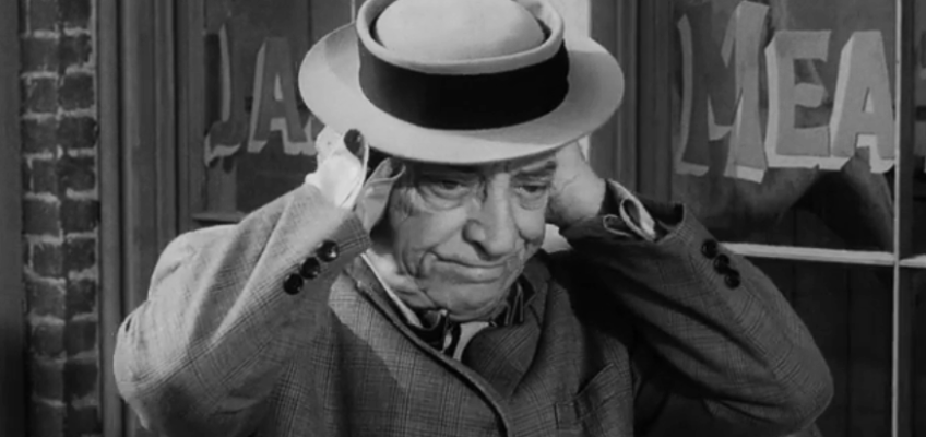 "Buster Keaton on ""The Twilight Zone"""