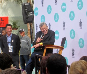 Jerry Lewis Honored at Chinese Theatre