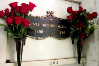 The 87th Annual Valentino Memorial Service