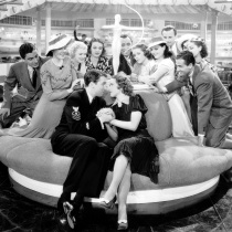 No pressure at all on James Stewart and Eleanor Powell in BORN TO DANCE
